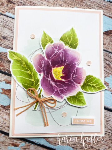 Good Morning Magnolia using Blends