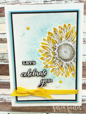 How to Celebrate with Sunflowers
