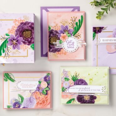 Creating Gorgeous Posies with a Project Kit